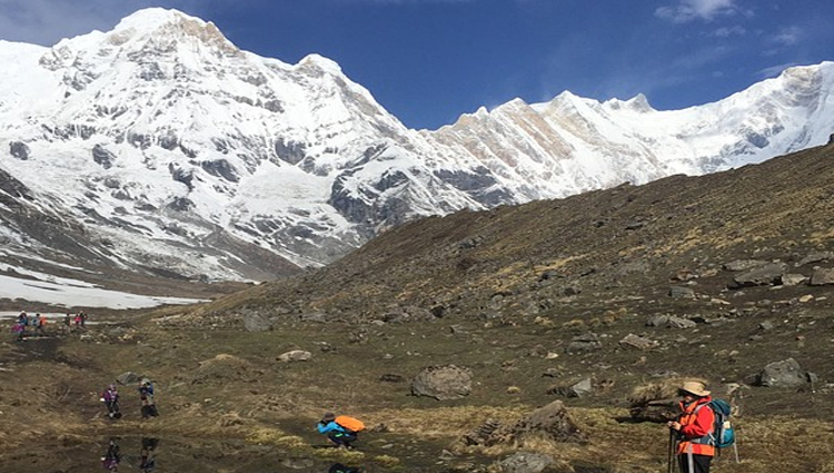 Annapurna and Chulu West Peak