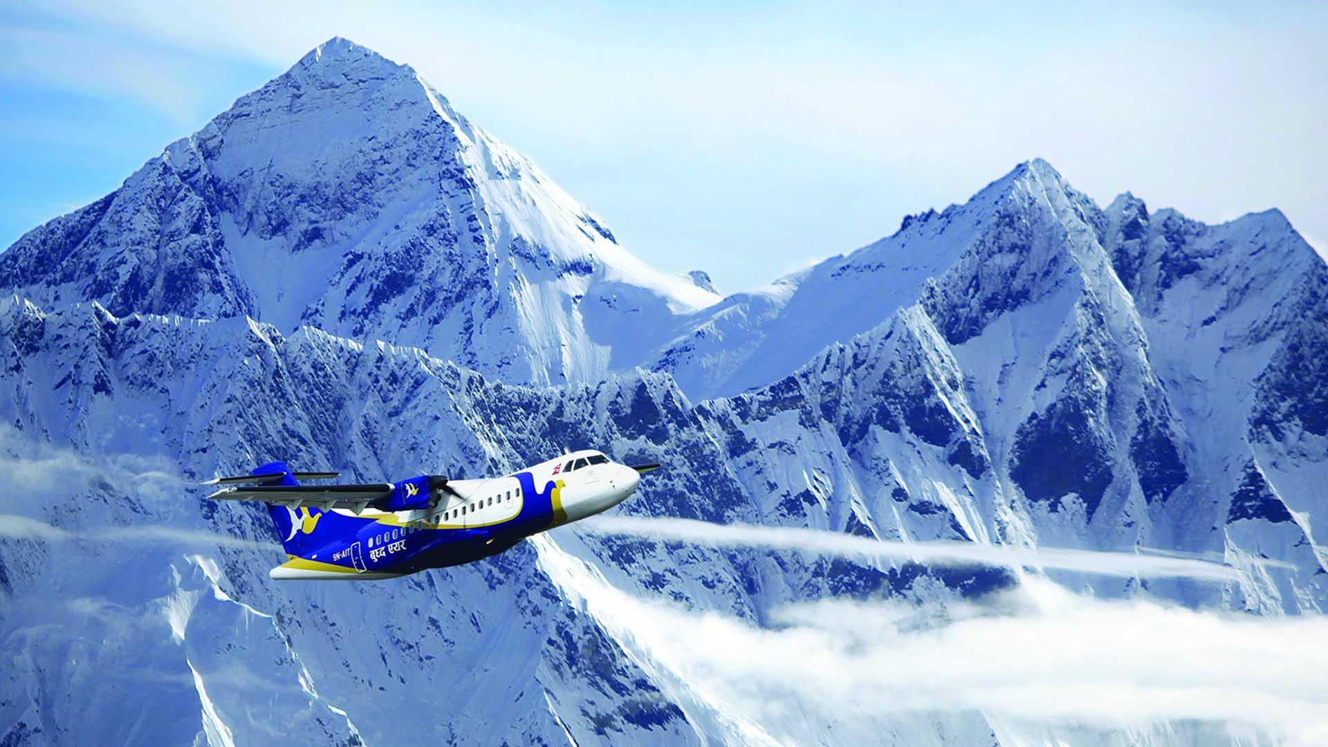 Himalaya Mountain Flight
