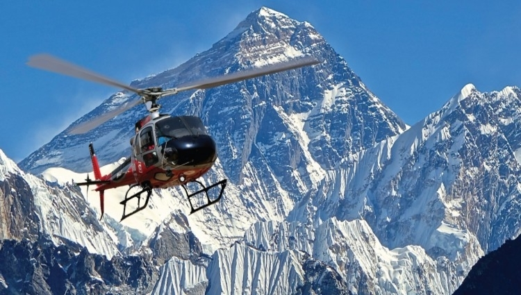 One day Everest Base camp tour by Helicopter
